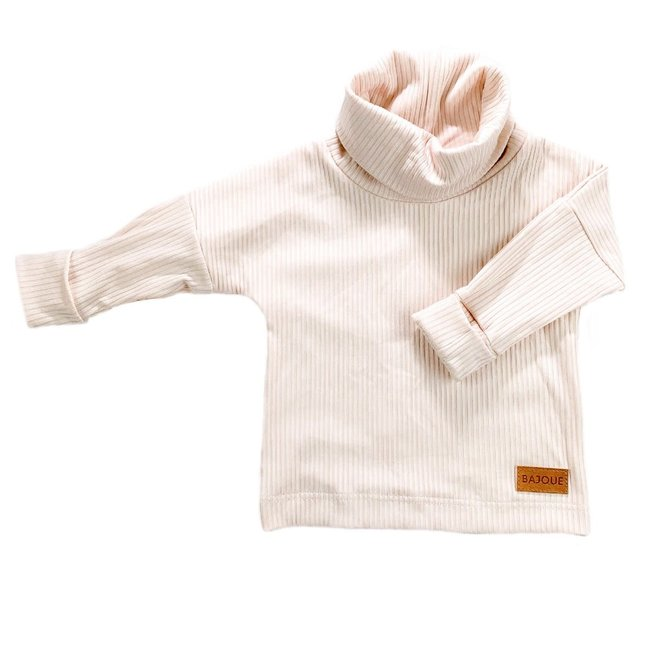 Bajoue Bajoue - Turtleneck Sweater, Blush