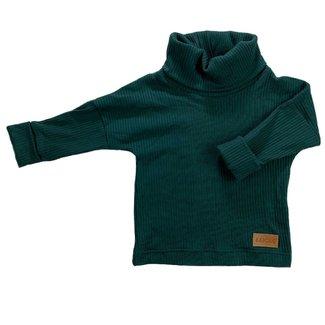 Bajoue Bajoue - Turtleneck Sweater, Spruce