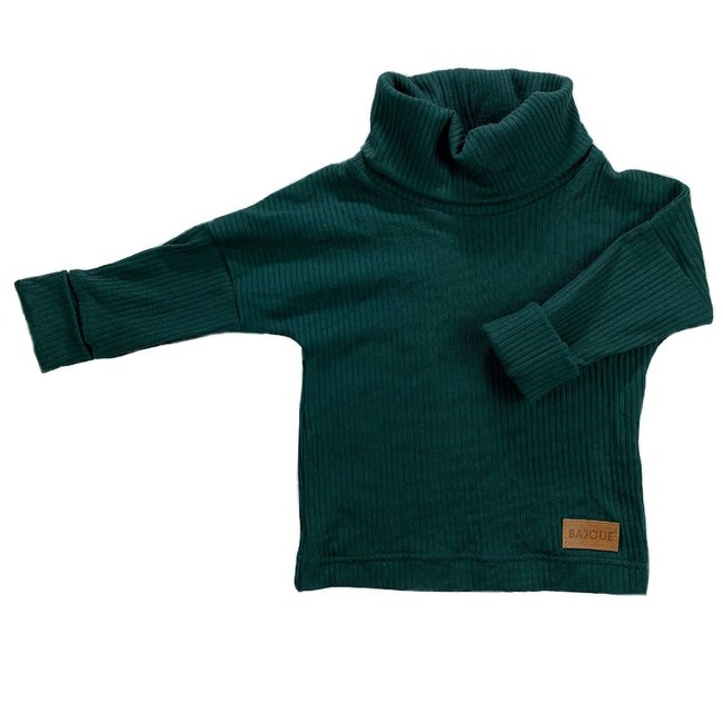 Bajoue Bajoue - Turtleneck Sweater, Spruce