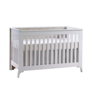 Natart Juvenile Natart Tulip Metro - Convertible Crib and 3 Drawer XL Dresser