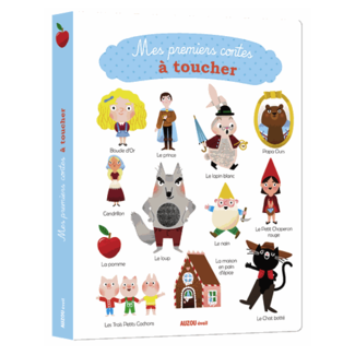 Auzou Auzou - My First Fairytales Touch Book