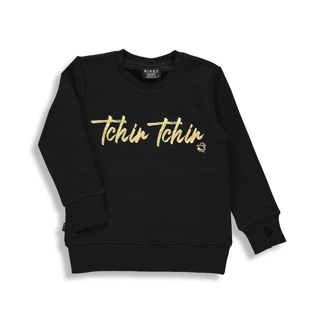 Birdz Children & Co Birdz - Tchin Tchin Sweat, Christmas Edition Black