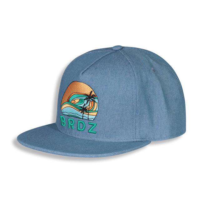 Birdz Children & Co Birdz - Sunset Cap, Denim Blue