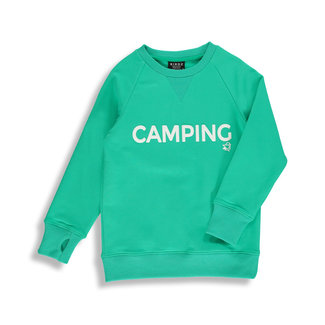 Birdz Children & Co Birdz - Camping Sweat, Aqua Green