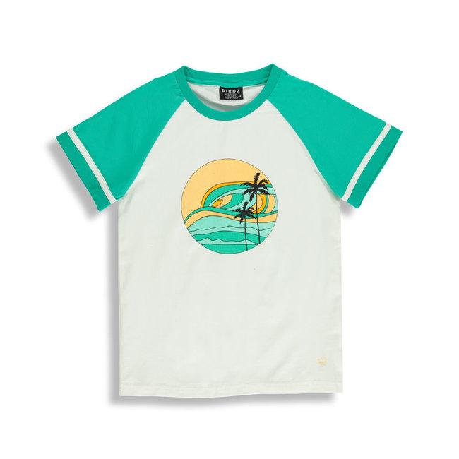 Birdz Children & Co Birdz - T-Shirt, Sunset Coconut Milk