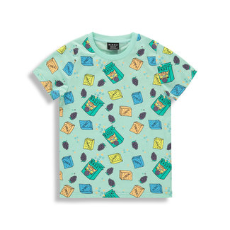 Birdz Children & Co Birdz - T-Shirt, Mint Breakfast