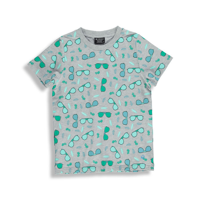 Birdz Children & Co Birdz - T-Shirt, Grey Sunglasses