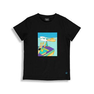 Birdz Children & Co Birdz - T-Shirt, Water Ski Black