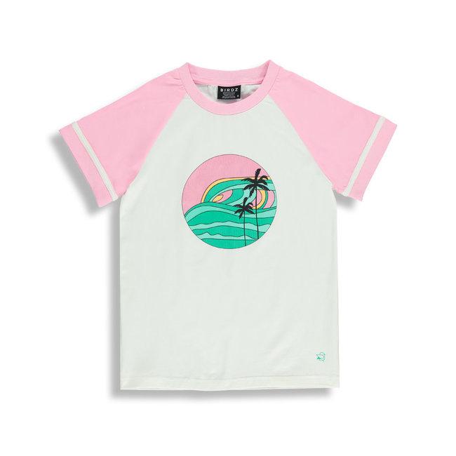 Birdz Children & Co Birdz - T-Shirt, Retro Coconut Milk