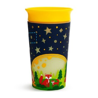 Munchkin Munchkin - Miracle 360° Sippy Cup, Glow in the Dark, Fox, 9oz