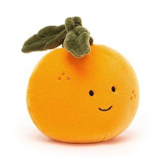 "Jellycat Jellycat - Fabulous Fruit, Orange 4"""
