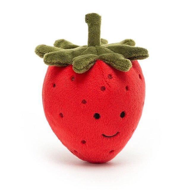 "Jellycat Jellycat - Fabulous Fruit, Strawberry 3"""
