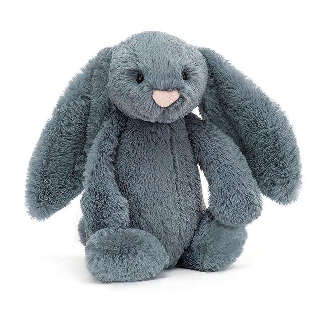 """Jellycat Jellycat - Bashful Bunny, Dusky Blue 12"""""""