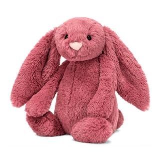 Jellycat Jellycat - Lapin Bashful, Dusty Pink 12''
