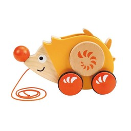 Hape Hape - Jouet à Tirer Walk-A-Long / Walk-A-Long Push Toy, Herisson/Hedgehog