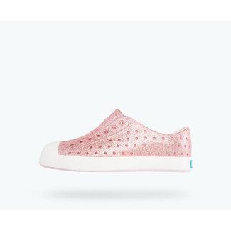 Native Native - Jefferson Bling Shoes, Milk Pink