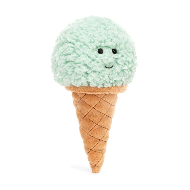 Jellycat Jellycat - Irresistible Ice Cream, Mint, 7""