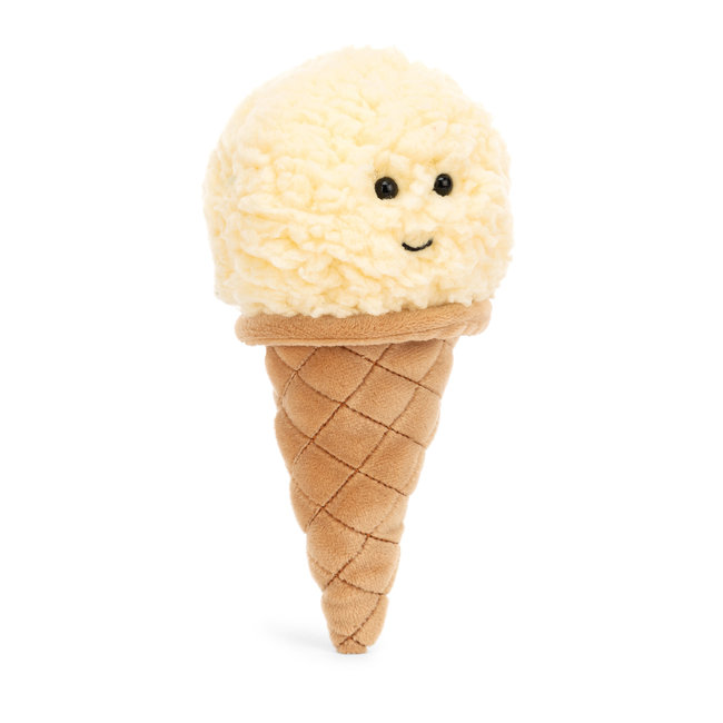 Jellycat Jellycat - Irresistible Ice Cream, Vanilla, 7""