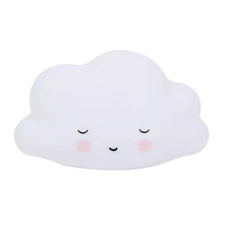 A Little Lovely Company A Little Lovely Company - Mini Sleeping Cloud Nightlight, White
