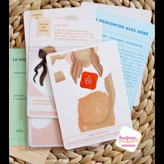 Bougeotte et Placotine Bougeotte et Placotine - Childbirth Checklist Cards