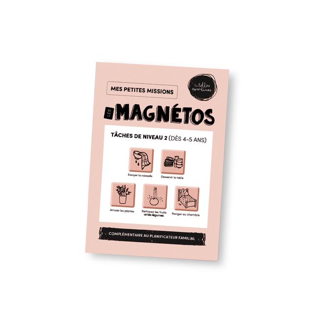 Les Belles Combines Les Belles Combines - Magnets, Tasks Level 2