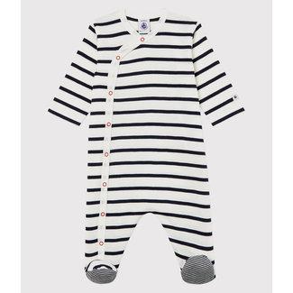 Petit Bateau Petit Bateau - Footie Pyjama, Sailor Stripe