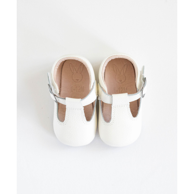 Aston baby Aston Baby - Shaughnessy Soft Soles Shoes, Blanc