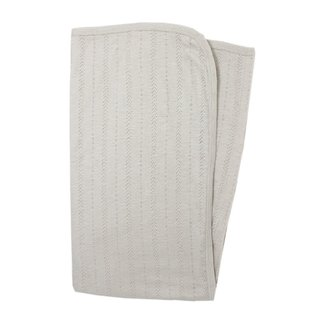 L'ovedbaby L'ovedbaby - Organic Cotton Pointelle Blanket, Stone