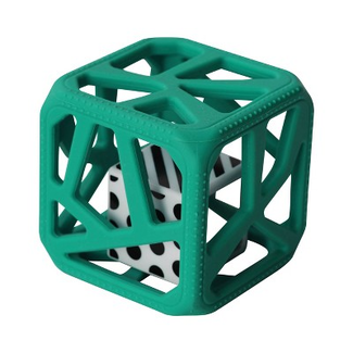 Munch Mitt Chew Cube - Theething Cube, Turquoise