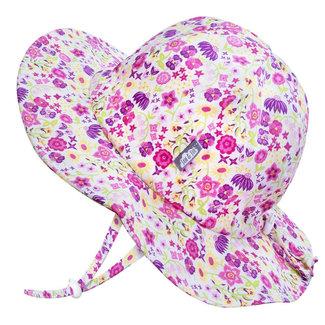 Jan & Jul Jan & Jul - Grow With Me Cotton Sun Hat, Wild Flowers