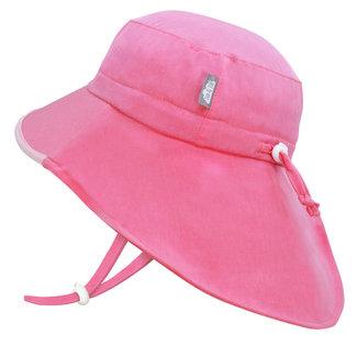 Jan & Jul Jan & Jul - Grow With Me Waterproof Adventure Sun Hat, Watermelon Pink