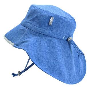 Jan & Jul Jan & Jul - Grow With Me Waterproof Adventure Sun Hat, Blue