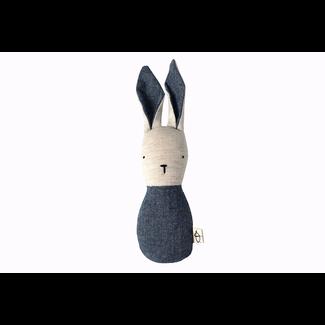 Ouistitine Ouistitine - Bunny Rattle, Dark Blue
