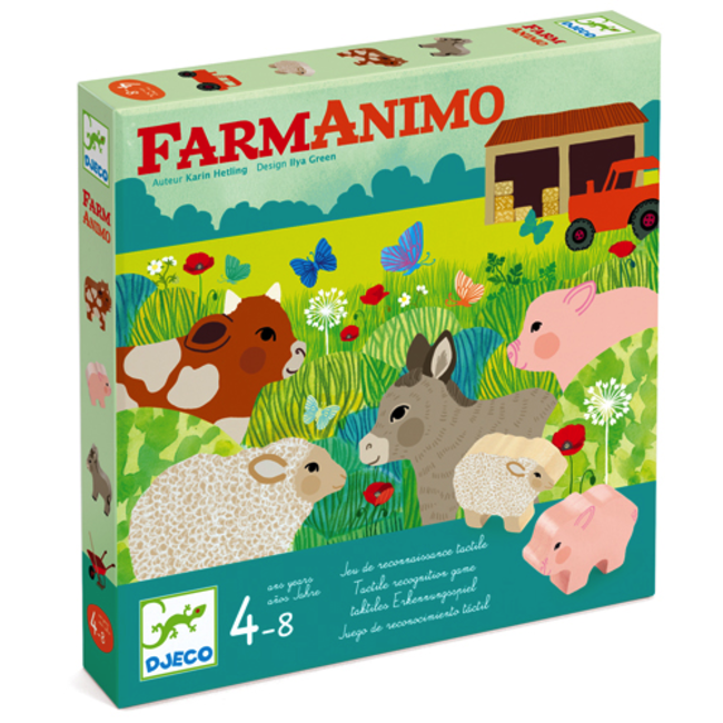 Djeco Djeco - FarmAnimo Cooperation Game