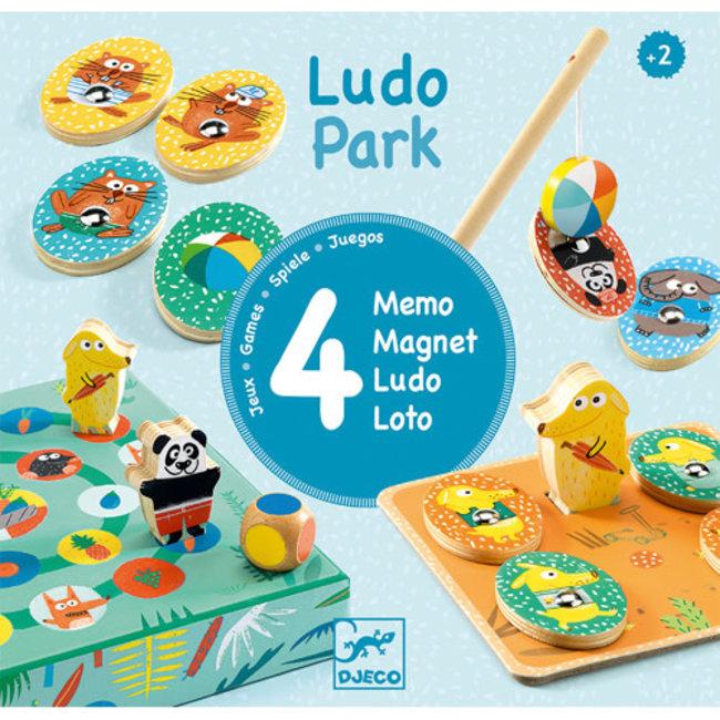 Djeco Djeco - Set of 4 LudoPark Games