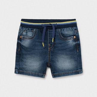 Mayoral Mayoral - Denim Belt Shorts, Medium