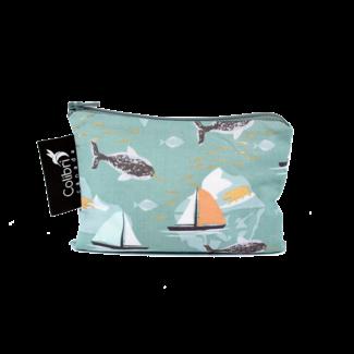 Colibri Colibri - Small Reusable Snack Bag, Narwhal