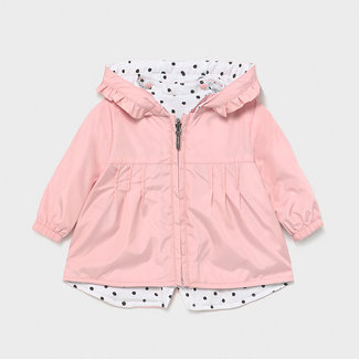 Mayoral Mayoral - Reversible Windbreaker Coat, Light Blush