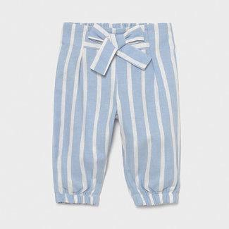 Mayoral Mayoral - Bubble Pants, Blue Sky Stripes