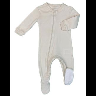 Zippy Jamz Zippy Jamz - Footie Pyjama, Baby Gray