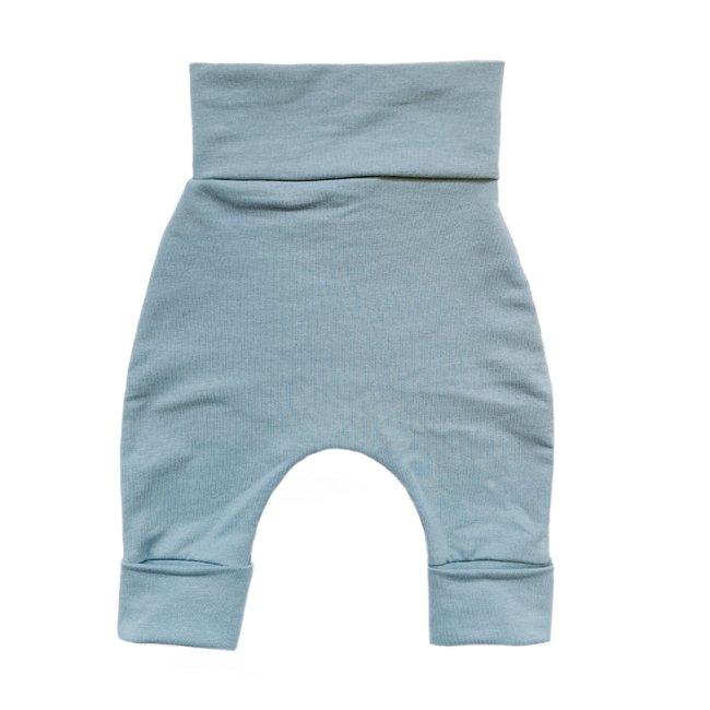 Bajoue Bajoue - Cotton Evolutive Pants, Ocean
