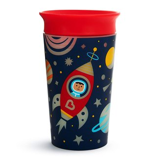 Munchkin Munchkin - Miracle 360° Sippy Cup, Glow in the Dark, Shuttle, 9oz