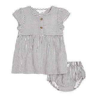 Petit Lem Petit Lem - Dress Set, Stripes