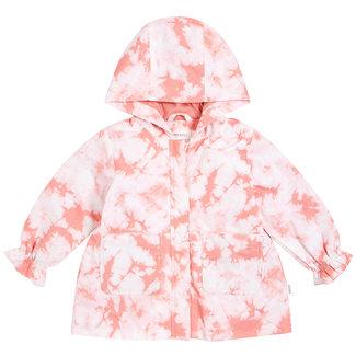 Miles Baby Miles Baby - Tie Dye Rain Coat, Pink