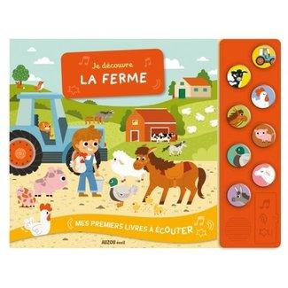 Auzou Auzou - Sensory Book, The Farm Sounds