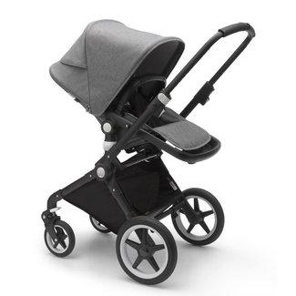 Bugaboo DEMO SALE - Bugaboo Lynx - Complete Stroller, Black - Grey Melange