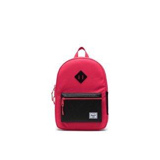 Herschel Herschel - Heritage Youth Backpack, Red, Black Sparkle