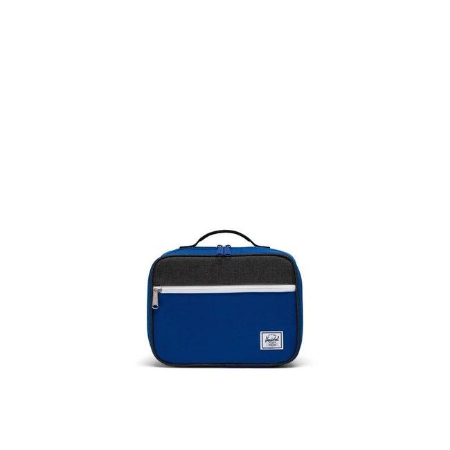 Herschel Herschel - Lunch Bag, Surf the Web, Black Crosshatch