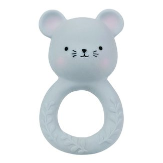 A Little Lovely Company A Little Lovely Company - Teething Ring, Mouse