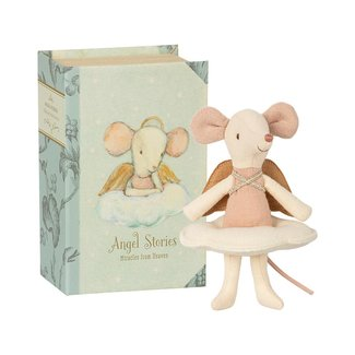 Maileg Maileg - Angel Stories, Big Sister Mouse in Book
